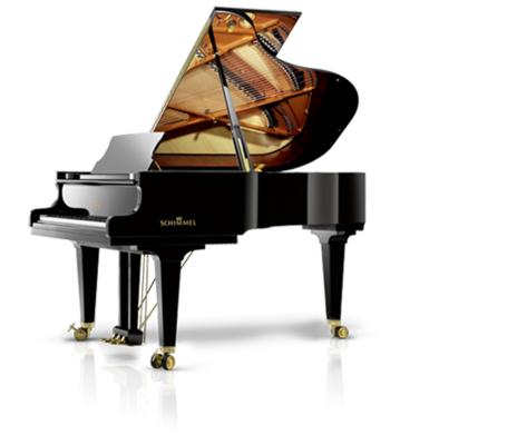 Schimmel K 195 Tradition Konzert noir poli brillant