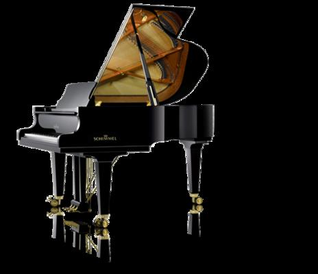 Schimmel K 175 Tradition Konzert noir poli brillant