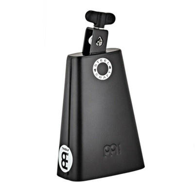 Meinl Steel Craft Line Cowbells 7» Classic Rock Cowbell – Big Mouth – Low Pitch – Black