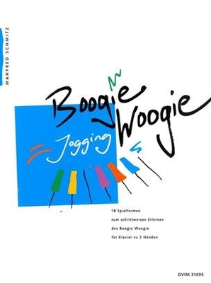 Boogie Woogie Jogging   Manfred Schmitz  Breitkopf und Härtel Piano Recueil / Manfred Schmitz / Breitkopf