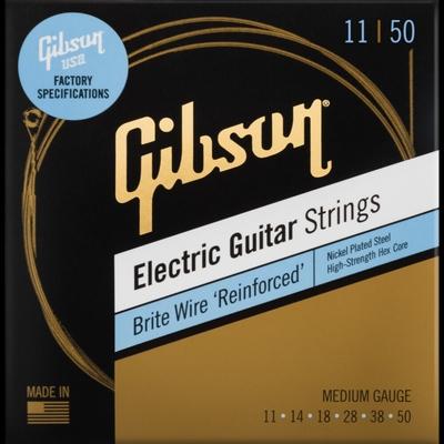Gibson Brite Wire Reinforced Strings Medium 11050