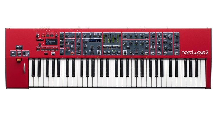 Clavia 10891 Nord Wave 2 Synthesizer