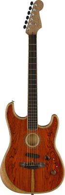 Fender Acoustasonic Stratocaster Exotic Cocobolo – Limited  2020