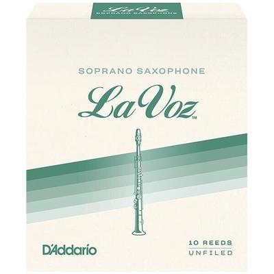La Voz Rico La Voz, Sax soprano, Medium Hard, boîte de 10