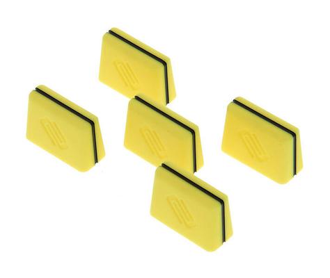 Reloop Fader cap set yellow (set of 5)