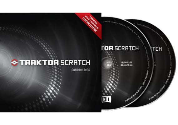 Native Instruments Traktor Scratch Control Vinyl Black MK1