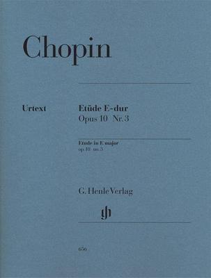 Etude In E Major, Op. 10, No. 3  »Tristesse» Frédéric Chopin  G. Henle Verlag Piano Recueil / Frédéric Chopin / Henle Verlag