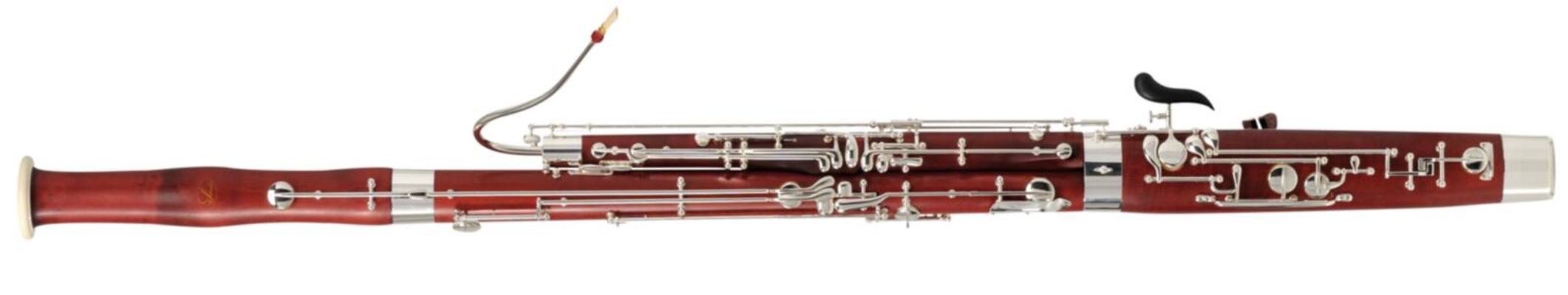 Schreiber S16, bois dérable, 25 clés, 2ème Sib, verrou de piano, trille de Do#, 2 bocaux (KER1 & 2), argenté- en étui