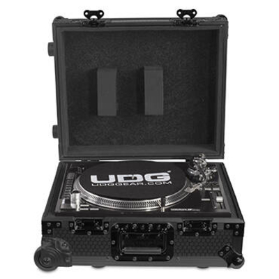 UDG U91029BL2 FLT CASE MULTIFORMAT TT BLACK MK2 PLUS