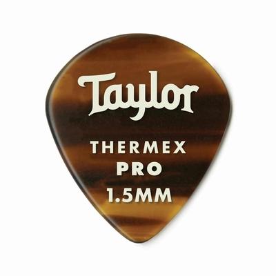 Taylor Premium Darktone 651 Thermex Pro Picks, Tortoise Shell, 1.50mm, 6-Pack