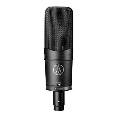 Audio Technica Pro AT4050 cardioid condenser microphone for studio