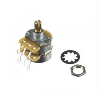 Fender Potentiometer Control Dual 500K/250K Split Shaft