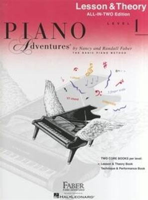 Faber Piano Adventures / Piano Adventures All-In-Two Level 1 Lesson/Theory Lesson & Theory – Anglicised Edition / Nancy Faber / Faber Music