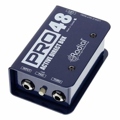 Radial Pro 48 activ DI box