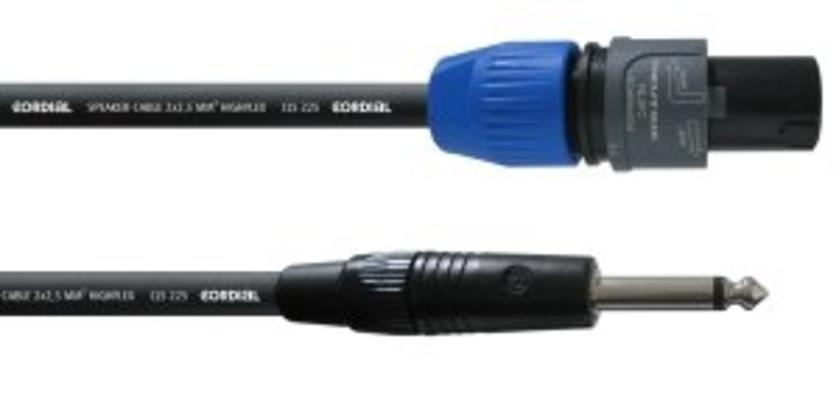 Cordial CPL 1.5 LP-25 câble haut-parleur, 1.5m, noir