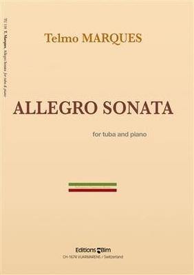 Allegro Sonata  Telmo Marques  Editions BIM Tuba et Piano Recueil / Telmo Marques / BIM