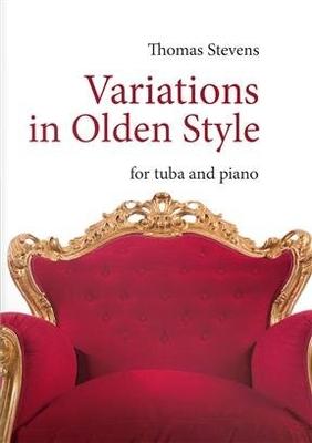 Variations in olden Style  Thomas Stevens  Editions BIM Tuba et Piano Recueil / Thomas Stevens / BIM