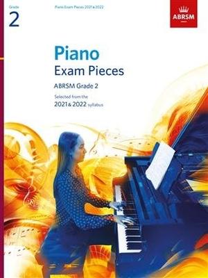 Piano Exam Pieces 2021 & 2022 – Grade 2 /  / ABRSM