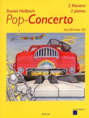 Recueil + CD / ACM 226 Pop Concerto / Daniel Hellbach / Acanthus