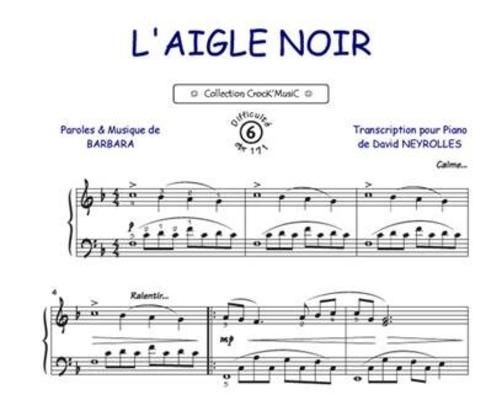 L'Aigle Noir Barbara / Barbara / Bourgès