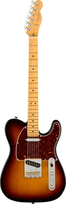 Fender American Professional II Telecaster, Maple Fingerboard, 3-Color Sunburst