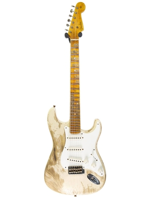 Fender Custom Shop 55′ Stratocaster, Super Heavy Relic, Maple Neck, White Blonde