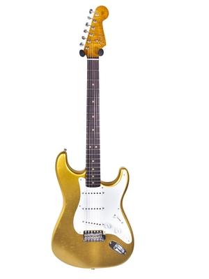 Fender Custom Shop 65′ Stratocaster, Journeyman Relic, Rosewood Fingerboard,  Aztec Gold