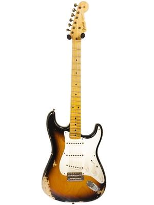 Fender Custom Shop 55′ Stratocaster, Heavy Relic, Maple Neck, 2 Color Sunburst