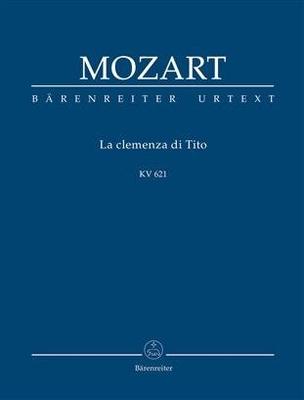 Clemenza Di Tito KV621 Wolfgang Amadeus Mozart / Wolfgang Amadeus Mozart / Bärenreiter