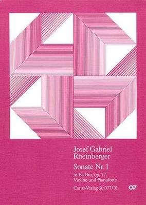 Violinsonate Nr. 1 in Es Josef Rheinberger / Josef Rheinberger / Carus