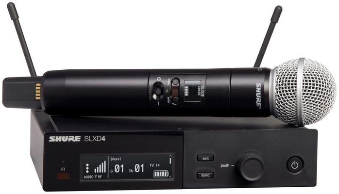 Shure SLXD24E/SM58-J53 (562-606 MHz) SM58