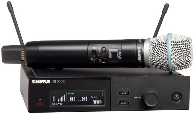 Shure SLXD24E/B87A-J53 (562-606 MHz) Beta87