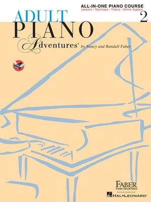 Adult Piano Adventures / Adult Piano Adventures All-in-One Book 2 Spiral Bound / Nancy Faber / Faber Music