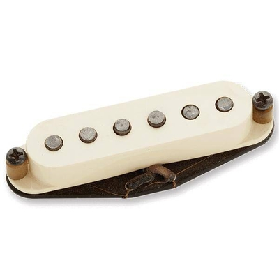 Seymour Duncan  Antiquity – Texas Hot Strat Neck Pickup Aged – White Cover
