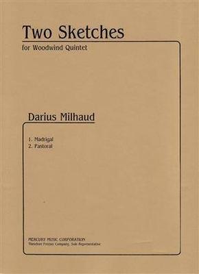 Two Sketches For Woodwind Quintet / Darius Milhaud / Theodore Presser