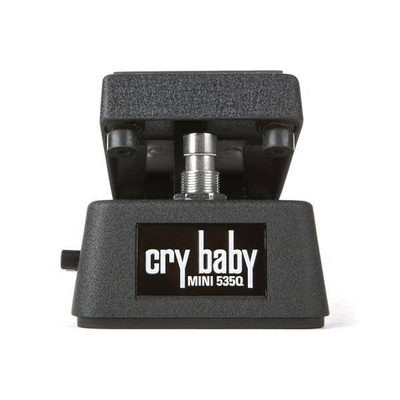 Dunlop Cry Baby MINI 535Q Wah Pedal – with external Q and Volume controls