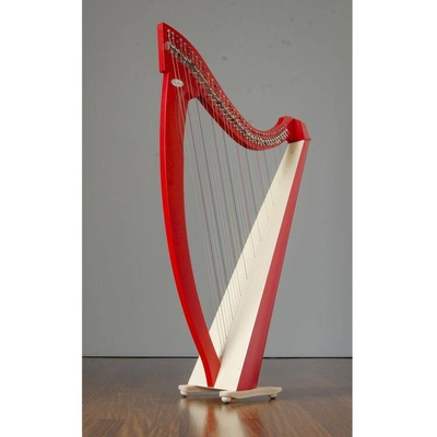 Salvi Titan 38 cordes finition rouge cordes en boyau Silkgut/Darm