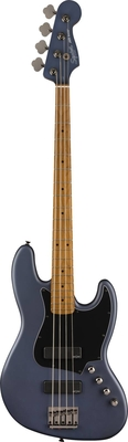 Squier FSR Contemporary Active Jazz Bass HH, Roasted Maple Fingerboard, Midnight Satin