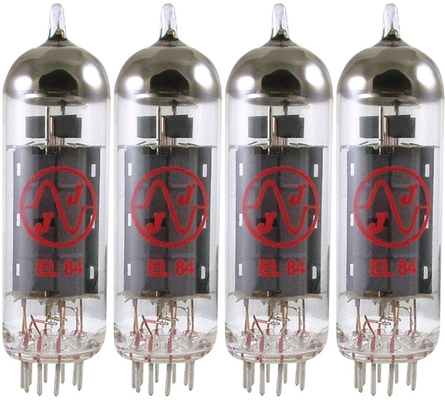 JJ Electronic EL84 / 6BQ5 quad appairé