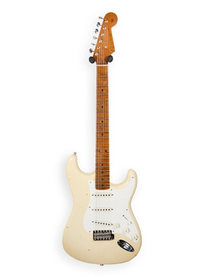 Fender Custom Shop 1958 Stratocaster, Journeyman Relic With Closet Classic Hardware, Aged Vintage White