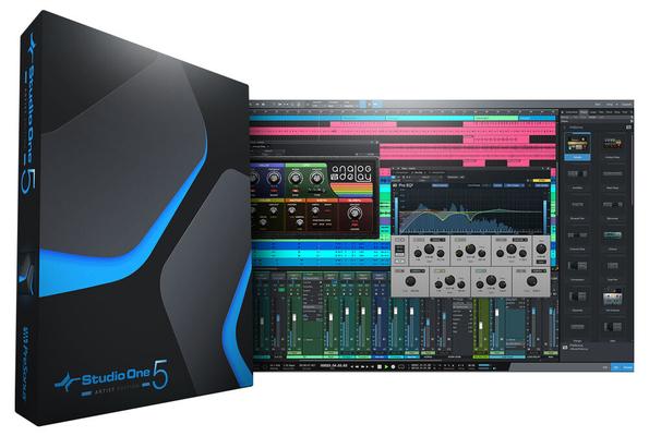 Presonus Studio One 5 Artist – Logiciel station audio numérique
