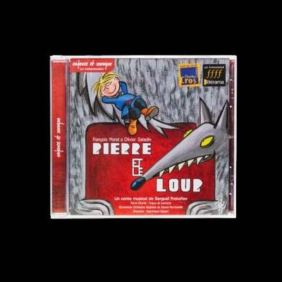 Fuzeau CD PIERRE ET LE LOUP_BOITIER CRISTAL