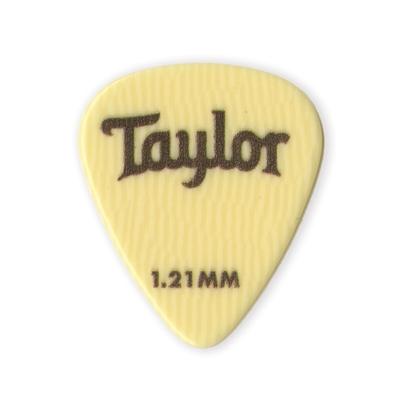 Taylor Premium DarkTone Ivoroid Guitar Picks, 6-Pack
