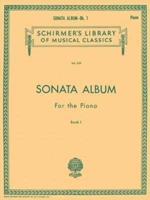 Schirmer's Library Of Musical Classics / Sonata Album for the Piano – Book 1 / Hans von Bülow / G. Schirmer