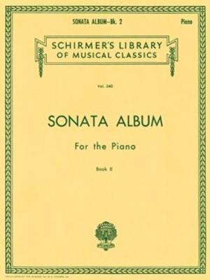 Schirmer's Library Of Musical Classics / Sonata Album for the Piano – Book 2 / Hans von Bülow / G. Schirmer