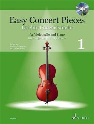 Easy Concert Pieces Band 1 Violoncelle et Piano / Katharina Deserno / Rainer Mohrs / Schott