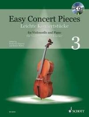 Easy Concert Pieces Band 3 Violoncelle et Piano / Katharina Deserno / Rainer Mohrs / Schott