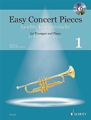Easy Concert Pieces Band 1 22 Pieces from 5 Centuries Trompette et Piano / Kristin Thielemann / Schott