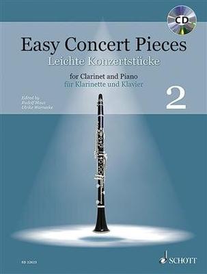 Easy Concert Pieces Band 2 Clarinette et Piano / Rudolf Mauz / Schott