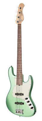 Sadowsky MetroLine 21-Fret Vintage J/J Bass Red Alder Body 4-String – Solid Sage Green Metallic Satin